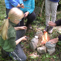 Children's parties - the bushcraft party